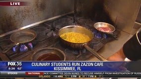 Culinary students run Zazon Cafe in Kissimmee