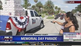 Memorial day parade in Sanford