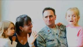Maj. Lance Giannone and family of Orlando