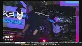 Sanford police car accident