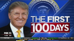President Trump: The first 100 days