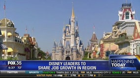 Disney leaders to share job growth in region