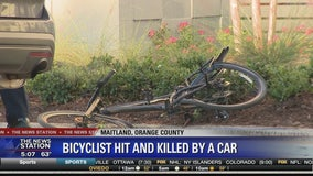 Bicyclist hit and killed by car