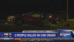 2 people killed in car crash