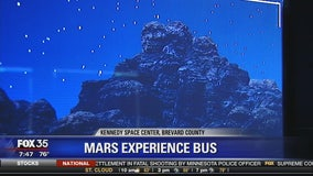 Mars Experience Bus at the Kennedy Space Center