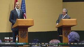President Obama addresses Cuban people during historic visit