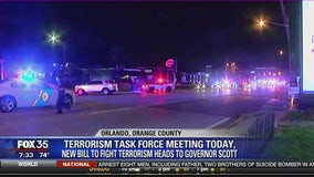 Terrorism task force meeting today: New bill to fight terrorism heads to Governor Scott