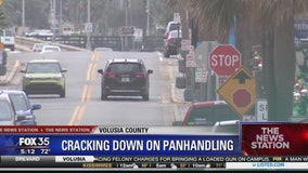 Crackdown on panhandling in Daytona Beach