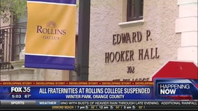 Fraternities suspended at Rollins College