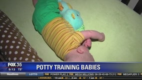 Potty training babies: People are doing it earlier but is it healthy?