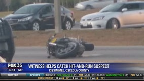 Witness helps catch hit-and-run suspect