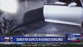 Search for suspects in business burglaries