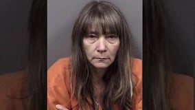 Florida woman named Crystal arrested for trafficking crystal meth