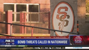 Bomb threats reported nationwide