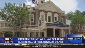 President Trump will have speaking role in Hall of Presidents at Disney