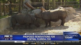 Proposed renovations for Central Florida zoo