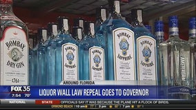 Liquor wall law repeal goes to governor