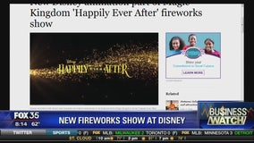New fireworks show at Disney