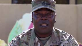 Military Greetings: Master Sgt. Andre Washington