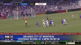 Orlando City takes on Montreal