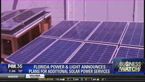 Florida power & light announces plans for additional solar power services