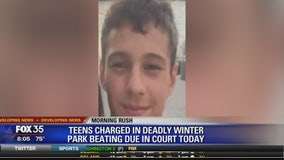 Teens charged in deadly Winter Park beating due in court today