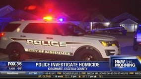 Police investigate homicide in Kissimmee