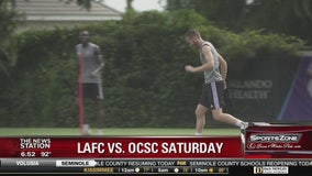 LAFC versus Orlando City on Saturday