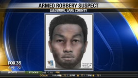 Armed robbery suspect in Leesburg