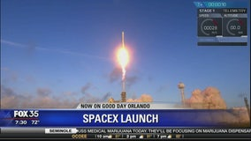 SpaceX launches and lands Falcon 9 rocket