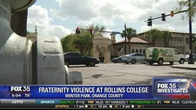 Fraternity violence investigated at Rollins College