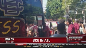 Bethune Cookman football team flees Dorian to Atlanta