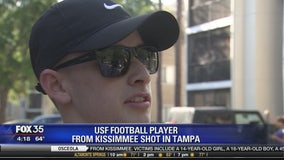 USF Football player from Kissimmee Shot in Tampa