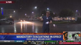 Hurricane Matthew: Cocoa Beach