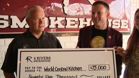 4 Rivers Smokehouse, The COOP donate 75,000 to Hurricane Dorian relief efforts