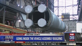 Going inside NASA's Vehicle Assembly Building