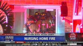 Residents of nursing home rescued from fire