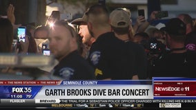 Fans treated to Garth Brooks performance at The Barn in Sanford