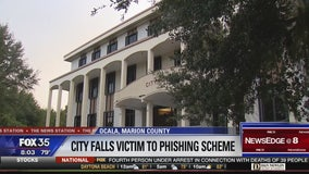 City of Ocala falls victim to phishing scheme