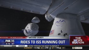 America still relying on Russians for rides to ISS