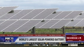 Solar power storage coming to Manatee Co.