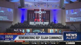 Elijah Cummings honored at dignitary-packed funeral