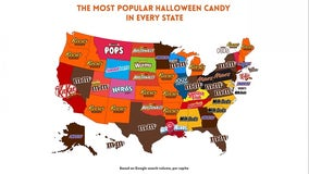 Halloween candy map reveals which state prefers what