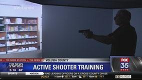 Volusia County deputies undergo training in active shooter simulator
