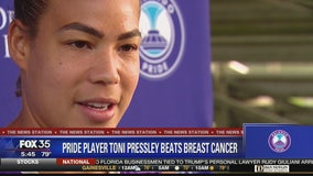 Toni Pressley back to soccer after battling breast cancer