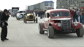 'Racing Legends Parade' beach parade at risk