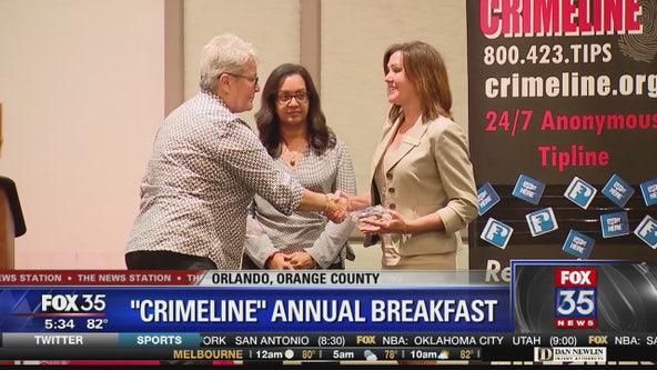 Crimeline holds annual awards breakfast