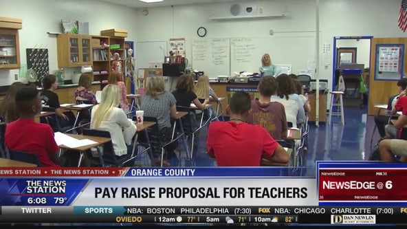 Pay raise proposal for Orange County teachers