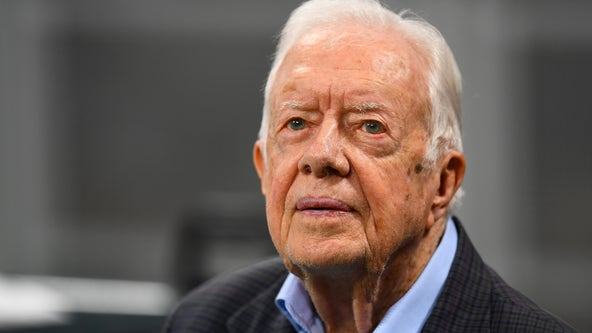 President Jimmy Carter hospitalized for procedure to reduce pressure on brain after recent falls