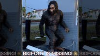 8-foot Bigfoot statue stolen from Florida mattress store, police say